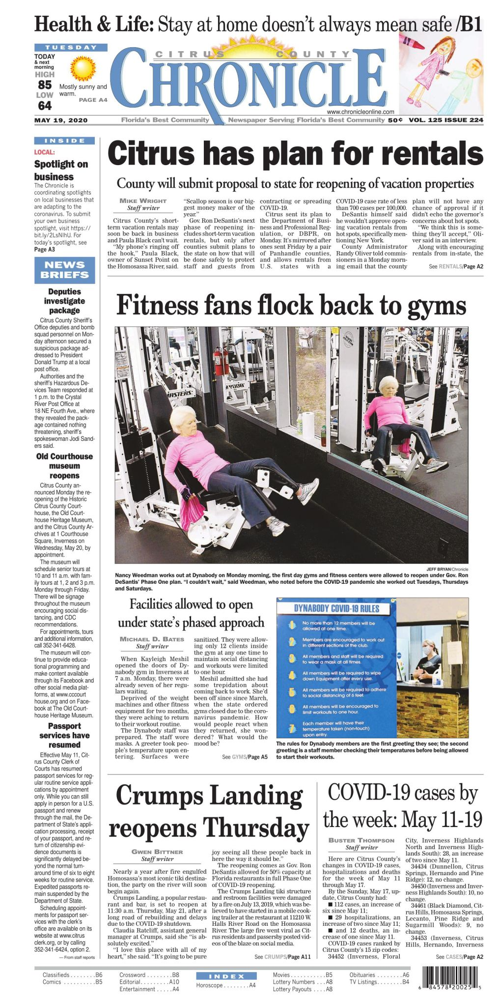 Citrus County Chronicle e-edition May 19, 2020