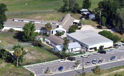 animal shelter aerial