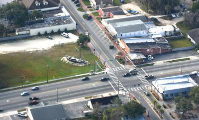 Citrus Ave and U.S. 19  downtown Inverness