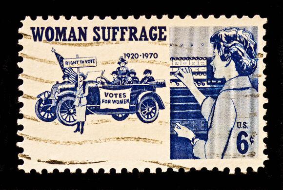 Suffrage stamp 0724