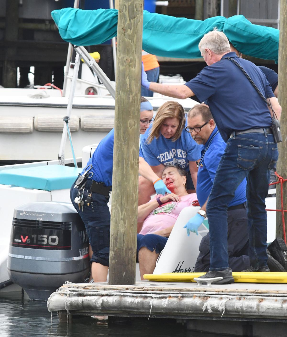 Boating crash dominant