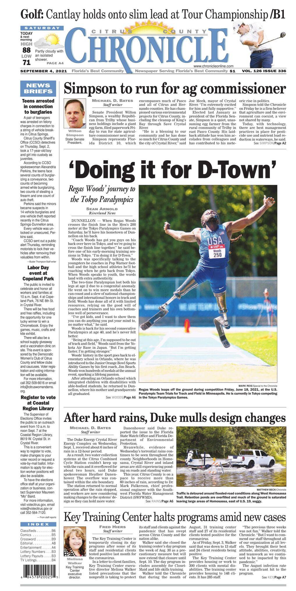 Citrus County Chronicle e-edition Sep 4, 2021