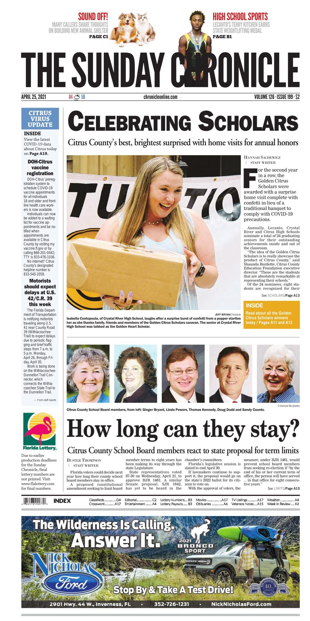 Citrus County Chronicle e-edition Apr 25, 2021