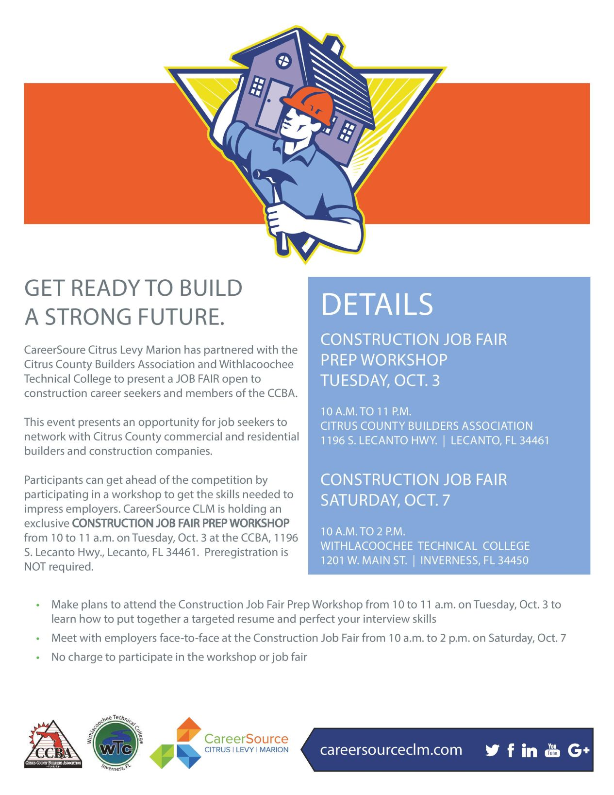 Job Fair For Building New Careers Chronicleonline Com