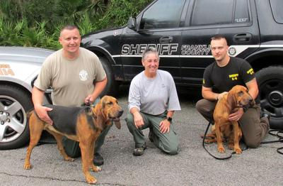 Find-M' Friends gift bloodhounds to Georgia police departments