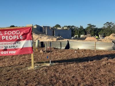 Wendy's under construction in Homosassa