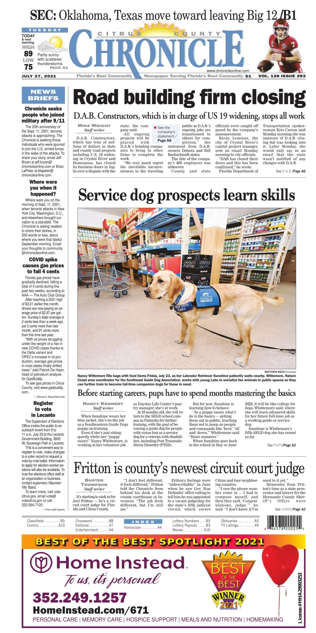 Citrus County Chronicle e-edition July 27, 2021