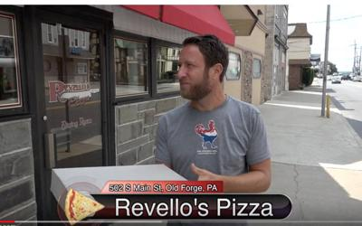 Barstool Sports founder Dave Portnoy rates Old Forge pizza a cut above in test