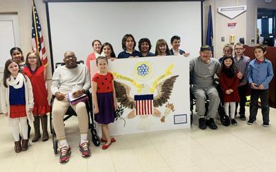 Montessori students present program at veterans hospital