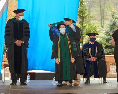 Medical school graduates ninth class of doctors