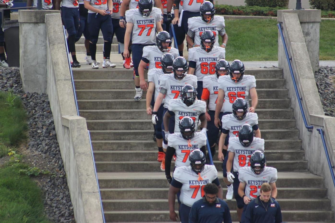 Keystone College football