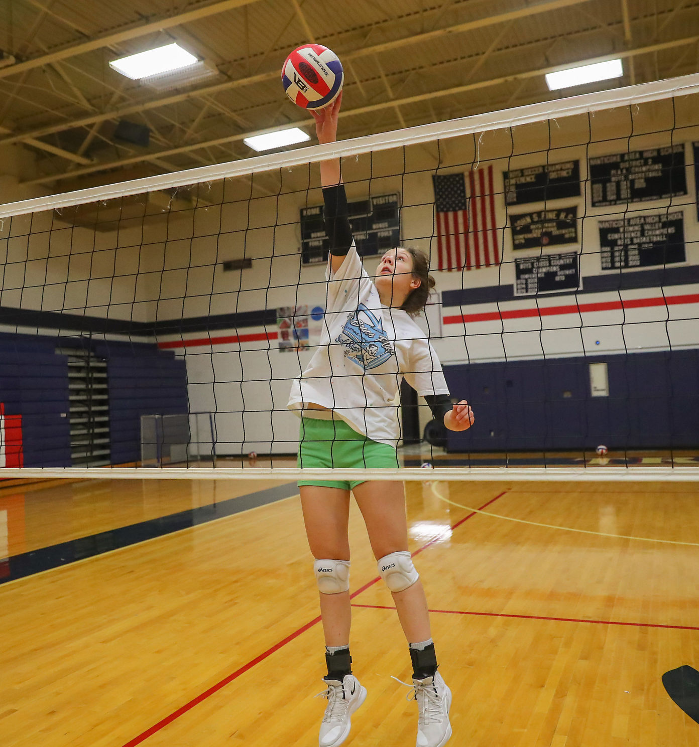 GIRLS HS VOLLEYBALL: Nanticoke Area Volleyball Practice