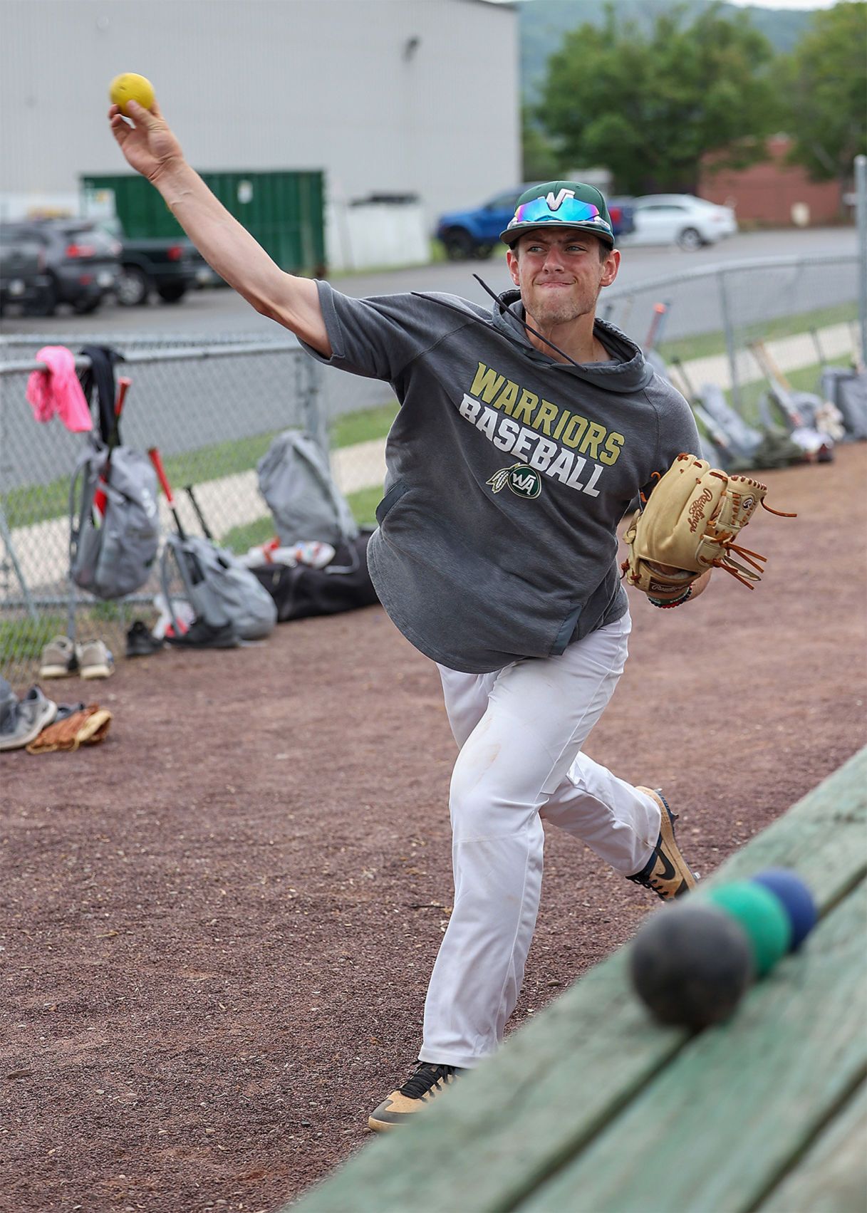 Wyoming Area Baseball Practice