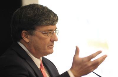 State Rep. Mike Carroll, D-118, Avoca