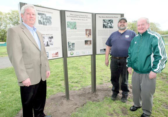 It was so outta there: The BAmbino's home run legacy at Artillery Park commemorated in new historical kiosk
