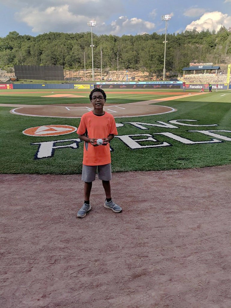 AMAZING KIDS: Tevin Conklin brings cheer to and raises funds for those in need