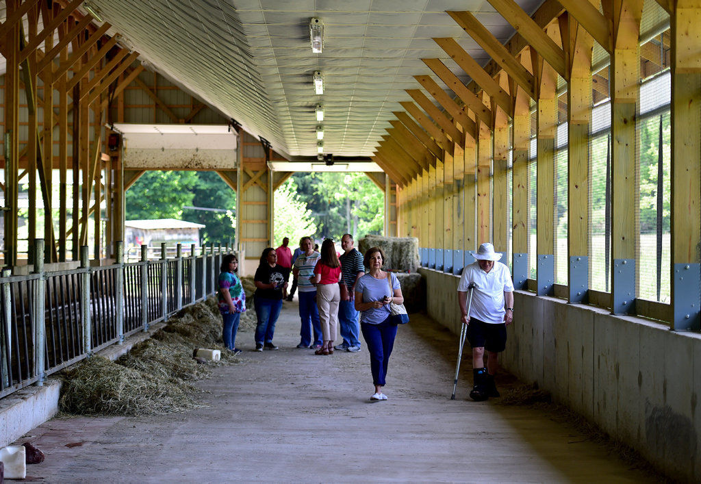 New Barn At Hillside Farms Furthers Ayers Mission News Citizensvoice Com