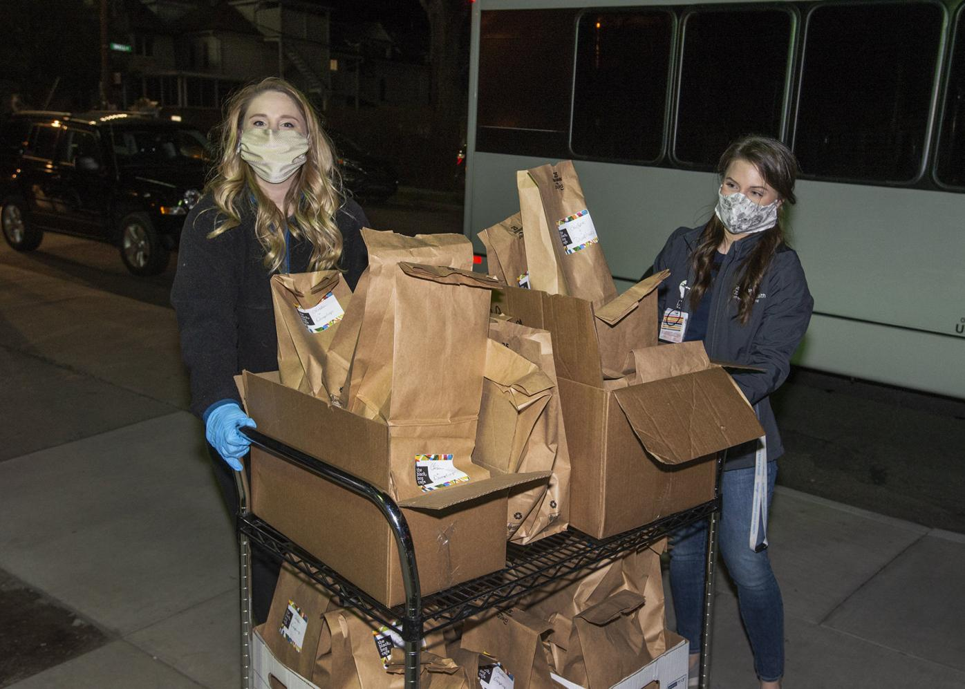 Meals for Medics initiative feeds frontline hospital workers, supports local restaurants