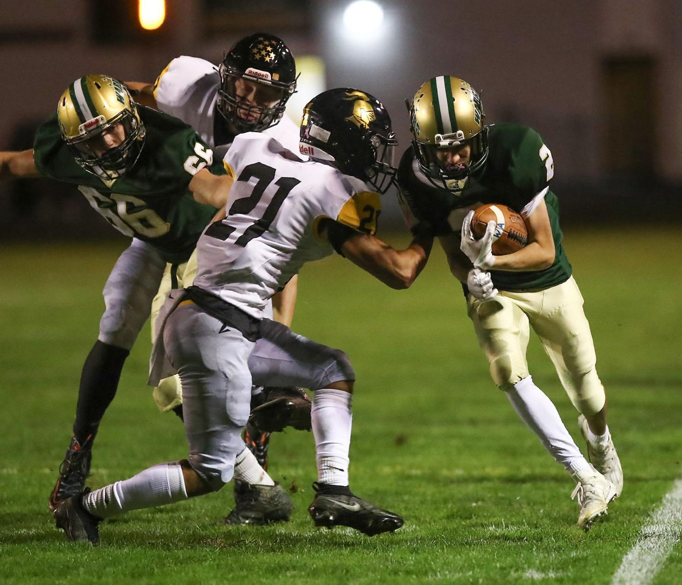 HIGH SCHOOL FOOTBALL: Wyoming Area vs Lake Lehman