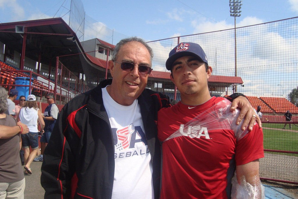 Camarena follows dream with late father in heart