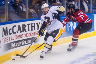 Wheeling hires former Penguin forward Army as assistant