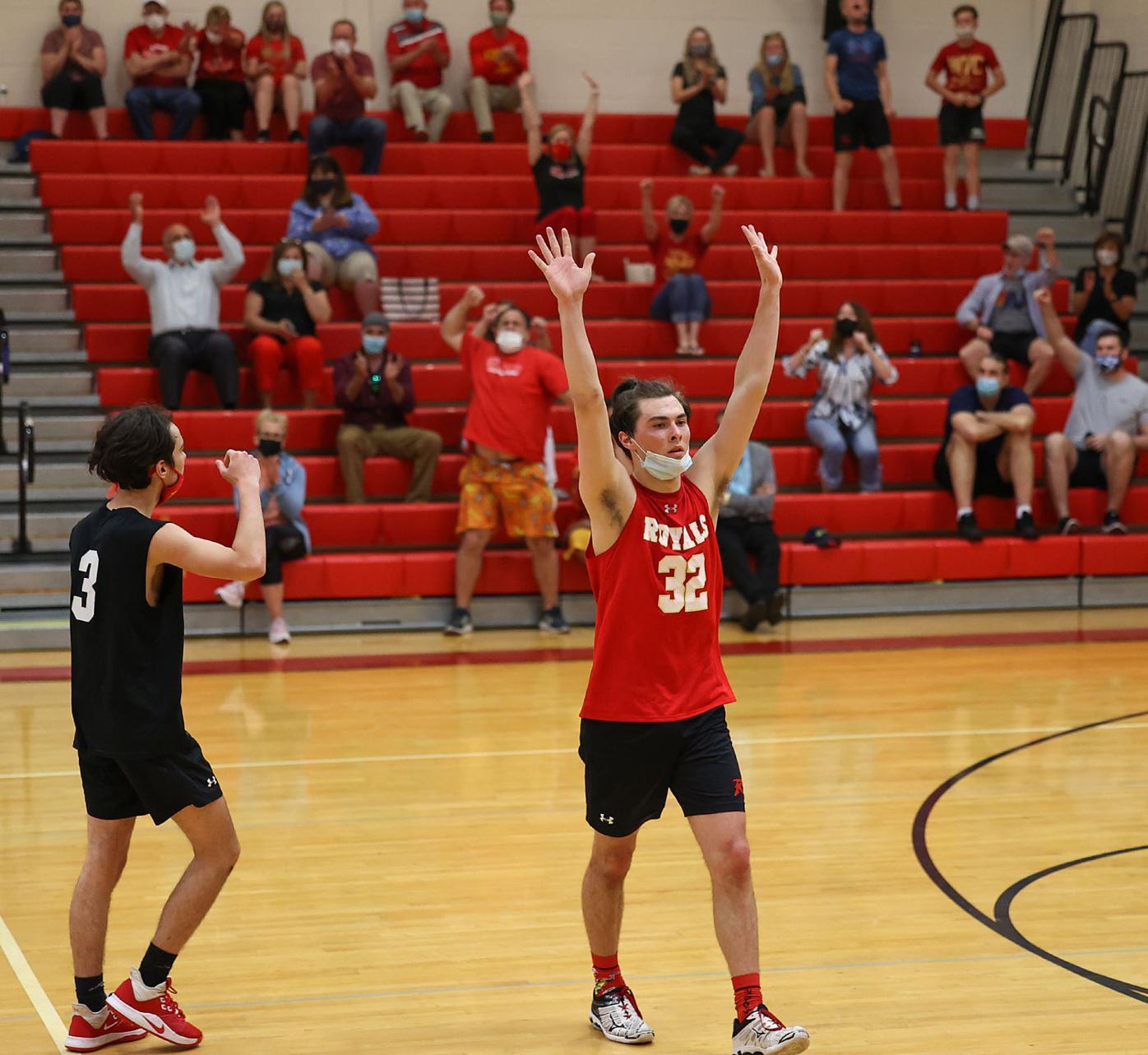 District II Boys Volleyball Subregional AA Championship: Holy Redeemer vs Dock Mennonite Academy