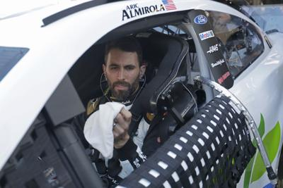 Almirola on pole for Saturday's Cup race at Pocono