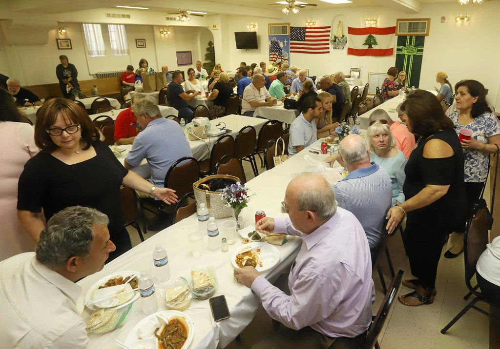At the Kibbee Food Festival at St. Anthony/St. George Maronite Church, Wilkes-Barre