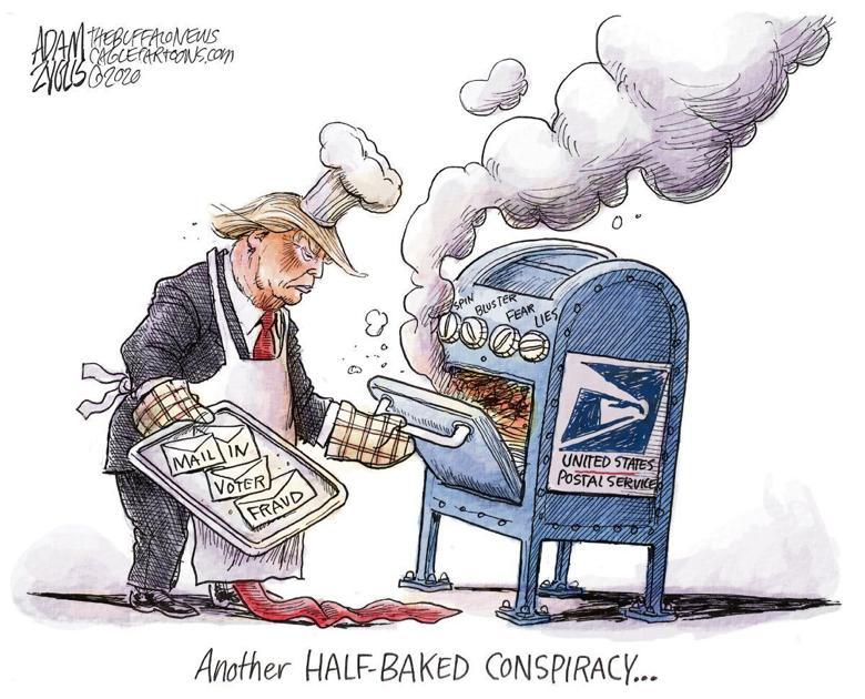 Don't let Trump disenfranchise state voters   Opinion   citizensvoice.com