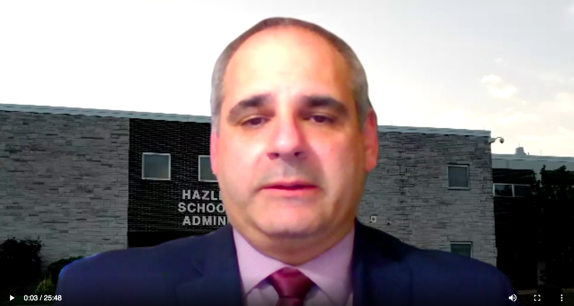 Hazleton Area Superintendent posts back-to-school video