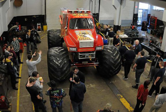 Monster Truck On Display At Career Center News Citizensvoice Com