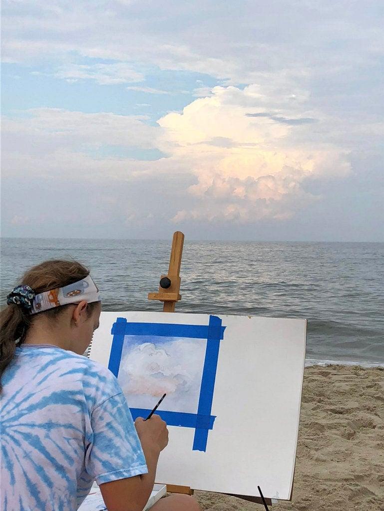 AMAZING KIDS: Amelia Grudkowski merges science, art, sport and school
