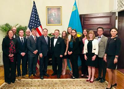 Misericordia students learn about Kazakhstan