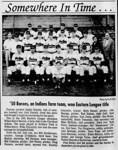 1950 Wilkes-Barre Indians