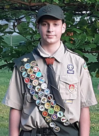 Tyler Lynch attains Eagle Scout rank