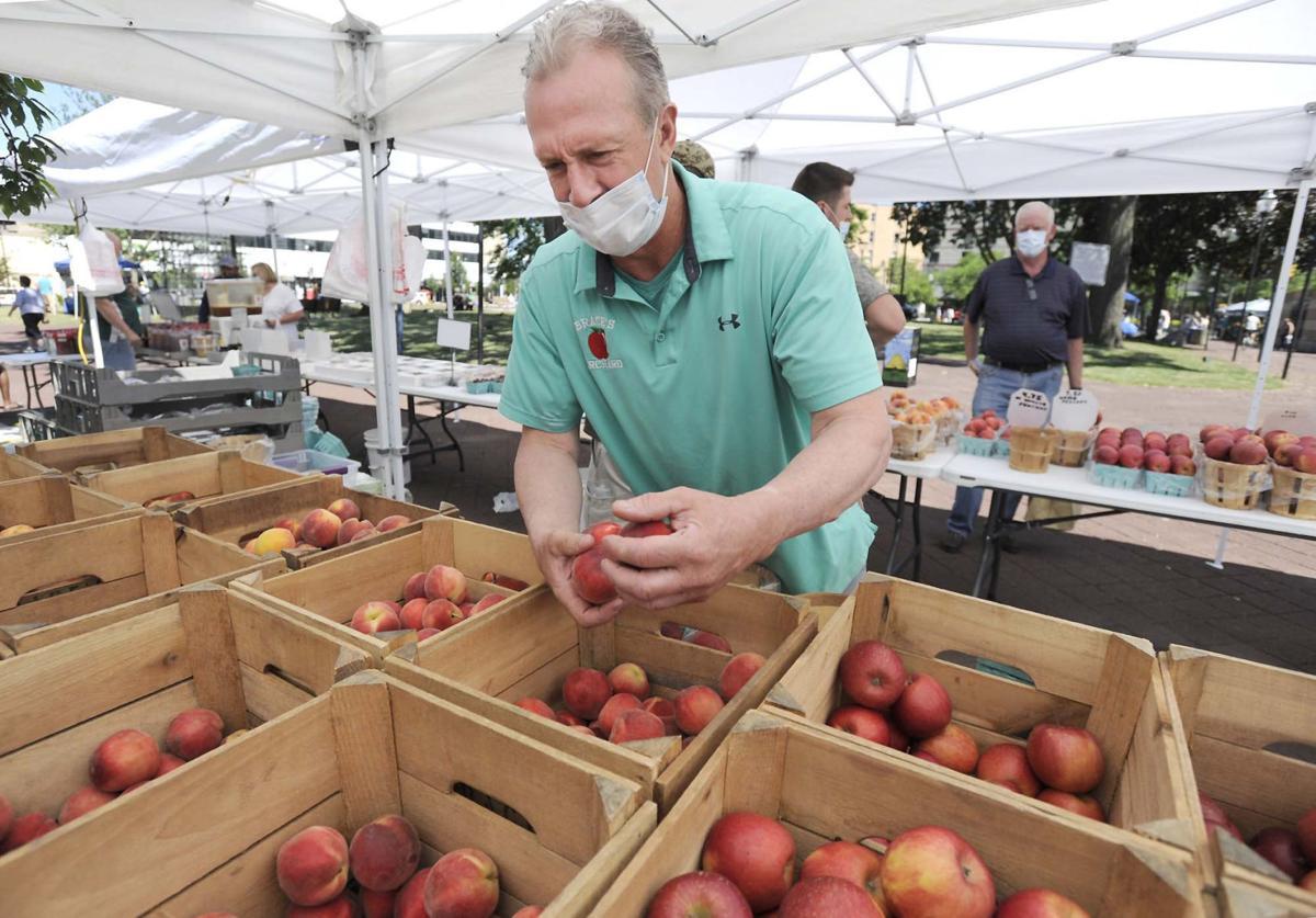 A smaller Farmers Market opens in Wilkes-Barre