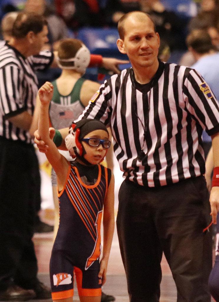 AMAZING KIDS: Madison Healey makes wrestling history