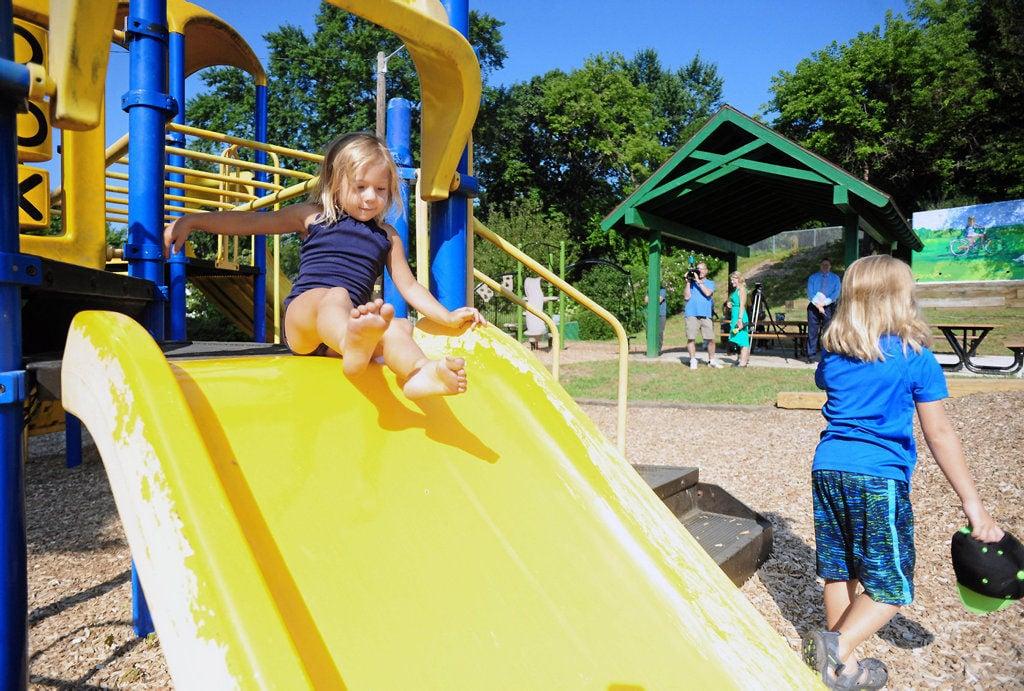 Spruce Street Park reopens in Wilkes-Barre