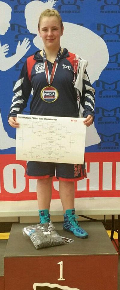 GIRLS WRESTLING: Pegarella, Walker win titles