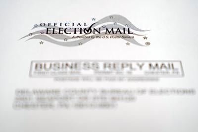Election 2020 Pennsylvania Mail-In Voting
