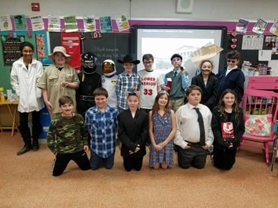 Northwest Area students participate in Wax Museum Project