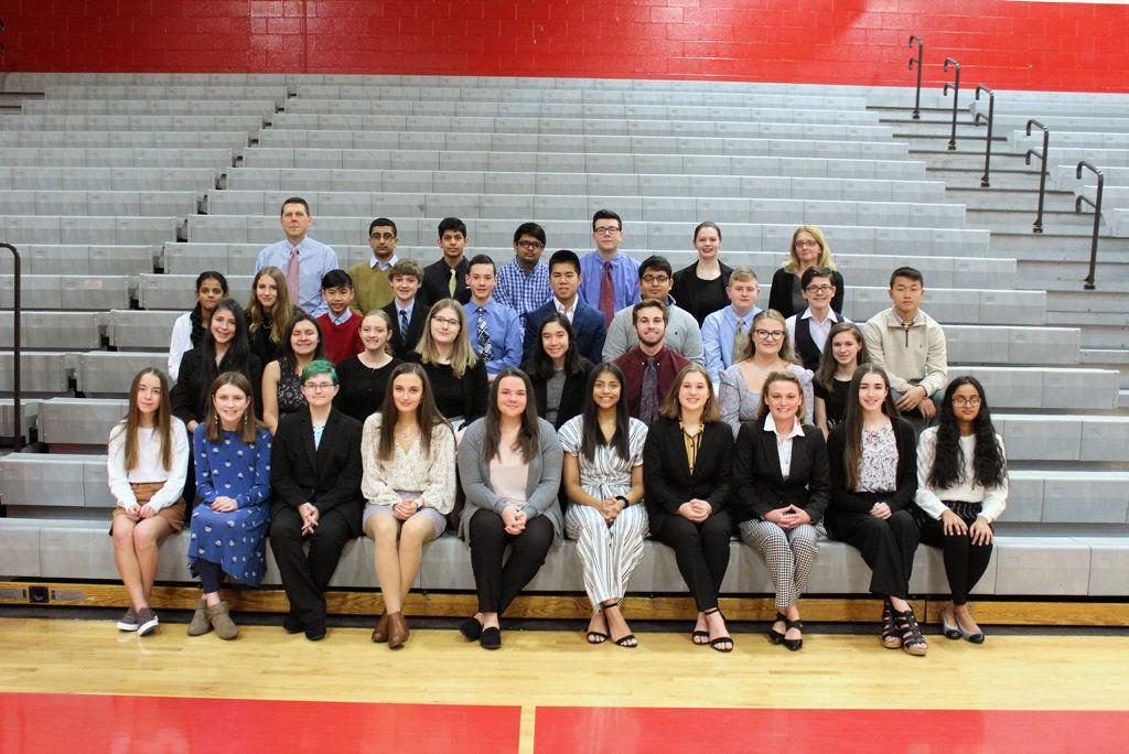 Crestwood students attend PJAS regional meeting