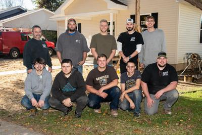 LCCC students assist with Habitat For Humanity home
