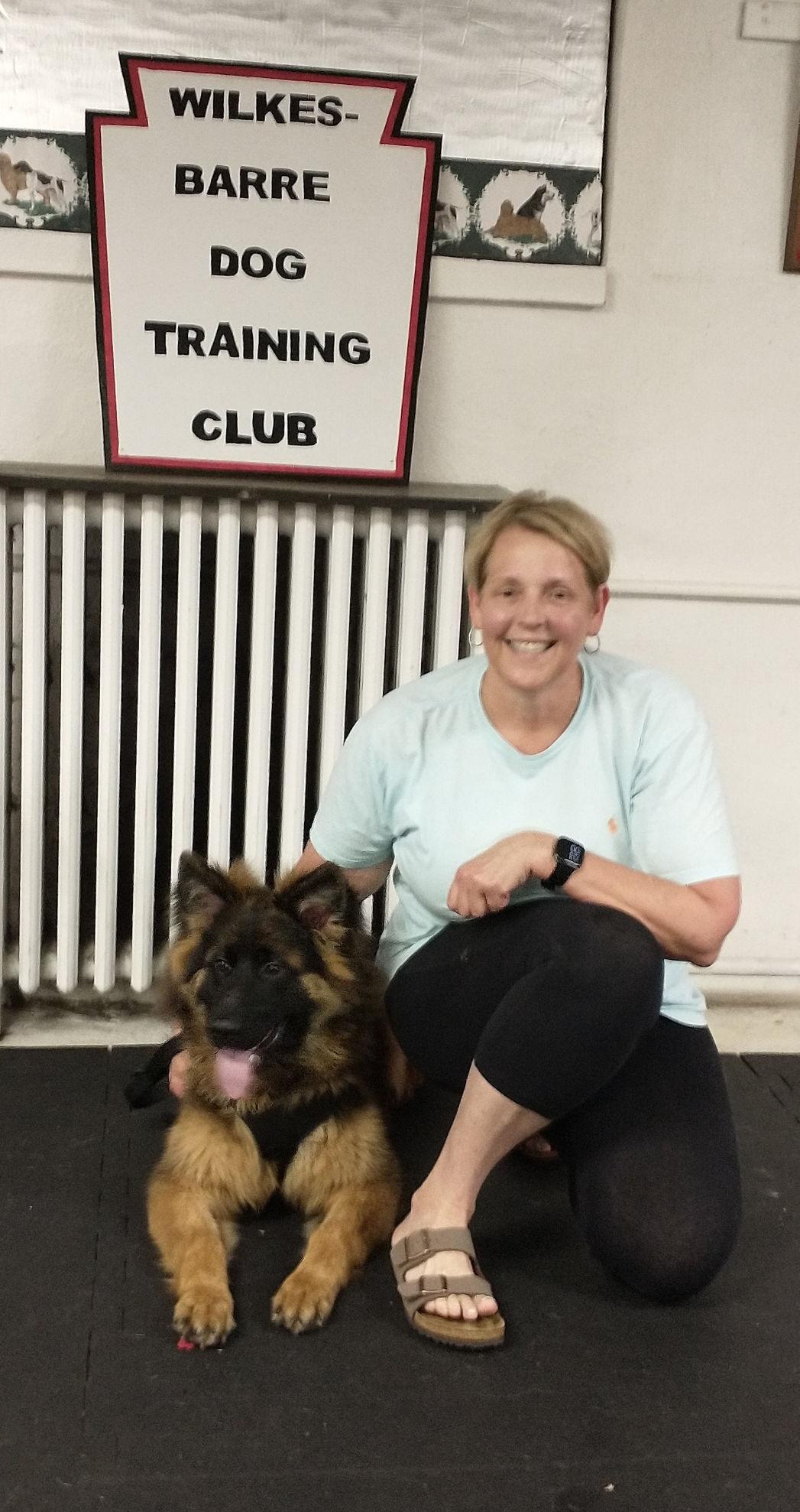 Puppy graduation held at W-B Dog Training Club
