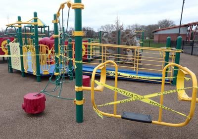 Wilkes-Barre playground equipment reopens