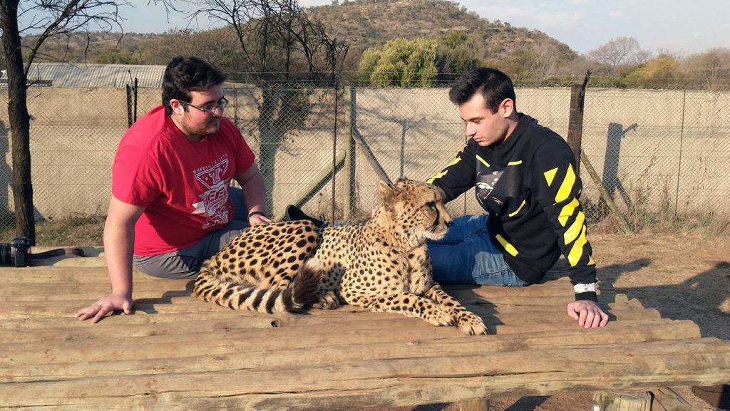 AMAZING KIDS: Matthew Nogin travels to Africa to volunteer at hospital