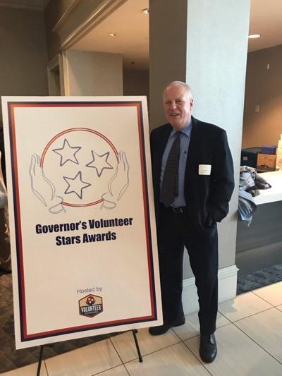 Dreher honored with Governor's Volunteer Stars award