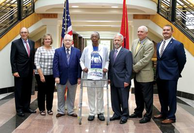 Osborne, late brother, honored by local officials