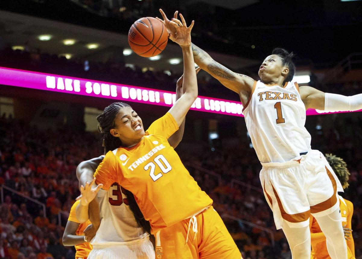 Texas women hand Lady Vols first loss, 66-60