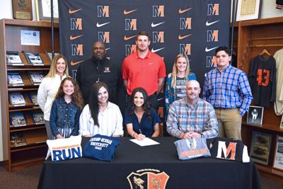 Baker signs to continue studies, track career at C-N